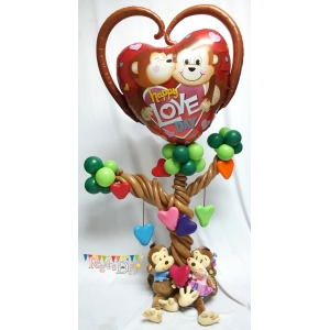 HAPPY MONKEY LOVE DAY